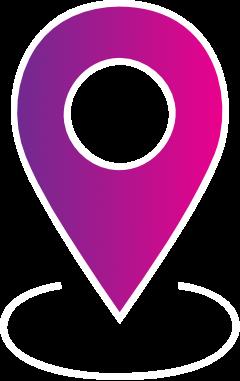 Icon Pin einer Landkarte
