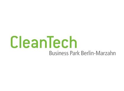 Logo des Zukunftsortes CleanTech Business Park Berlin-Marzahn