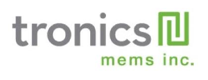 Logo tronics mems inc.