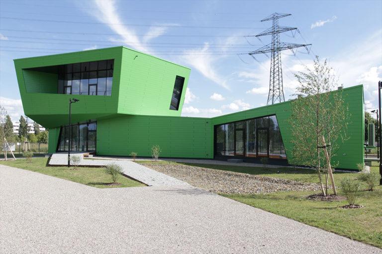 """CBP Pavillon im Berliner Zukunftsort """"CleanTech Business Park"""" in Marzahn"""