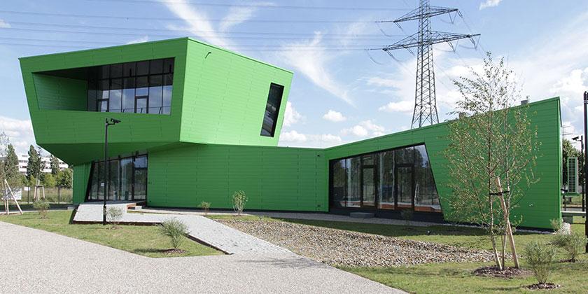 CBP Pavillon im Berliner Zukunftsort CleanTech Business Park in Marzahn