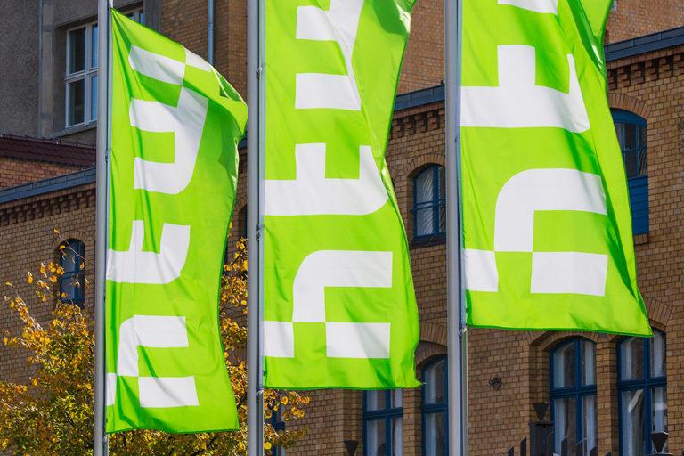 Flaggen Hochschule für Technik und Wirtschaft Berlin in Schöneweide