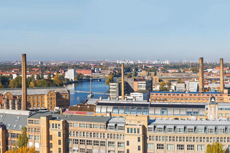 Luftbild Schöneweide