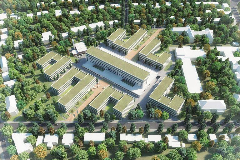 Zukunftsort Südwest: Visualisierung FUBIC Campus