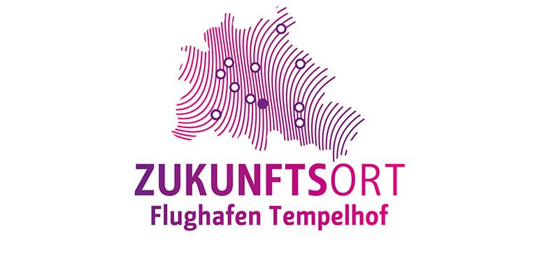 Logo Zukunftsort Flughafen Tempelhof
