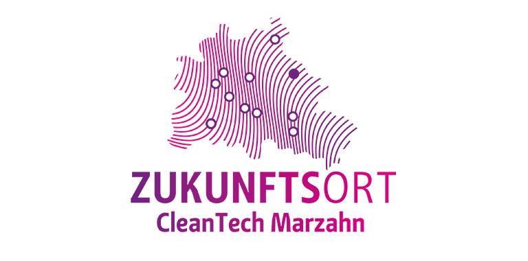 Logo Zukunftsort CleanTech Marzahn
