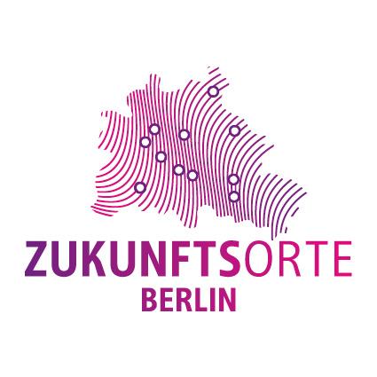 Sticker Logo der Zukunftsorte Berlin